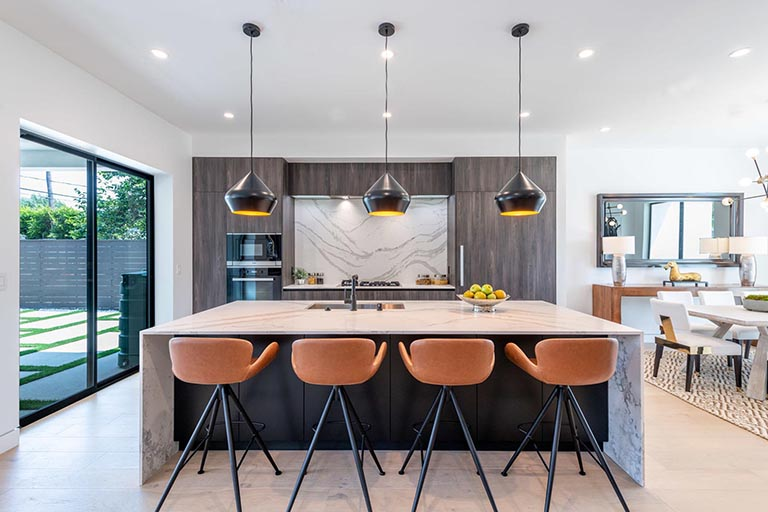 Home design Los Angeles modern contemporary kitchen 2