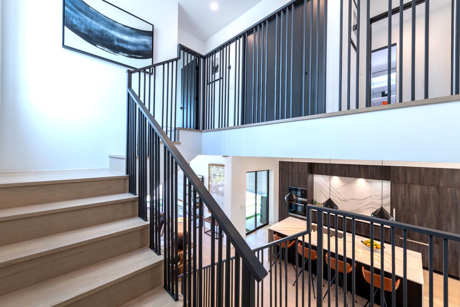 Home design Los Angeles modern contemporary staircase
