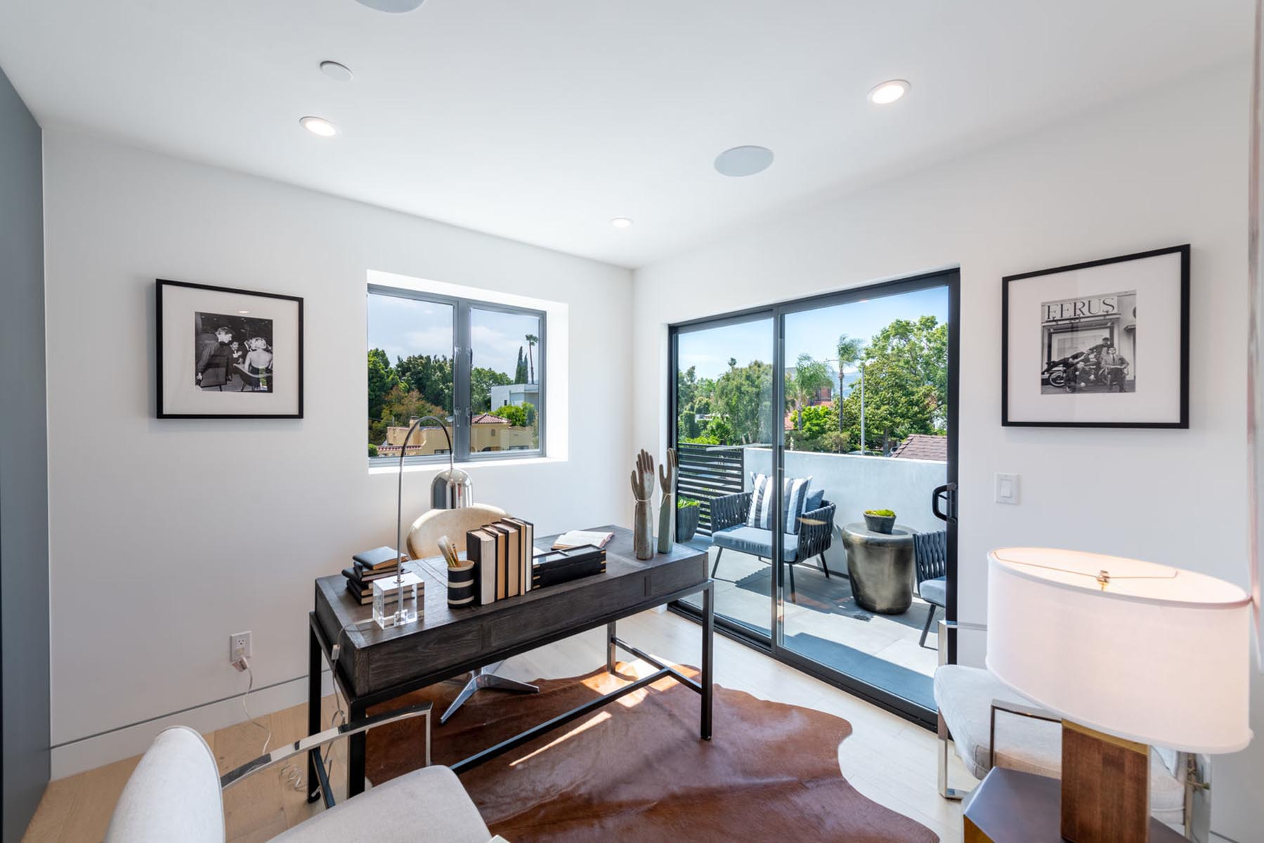 Home design Los Angeles modern contemporary home office